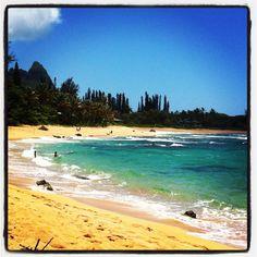 Kepuhi Beach, North Shore, Kauai -- where we were married in 2005.