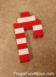 Christmas Ornament Lego Building Challenge