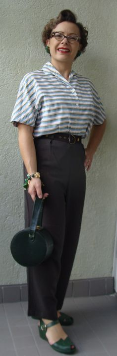 365 Vintage Days: 174. Brown trousers