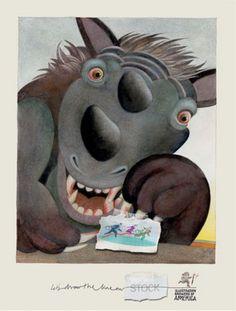 Read more: https://www.luerzersarchive.com/en/magazine/print-detail/society-of-illustrators-new-york-38525.html Society of Illustrators, New York (Claim: Let's draw the line on ... stock.) Campaign for an illustration stock archive. Tags: Leo Burnett, Chicago,Noel Haan,Larry Day,Society of Illustrators, New York,Etienne Delessert,G. Andrew Meyer