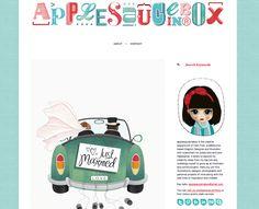 Using Style Hatch Premium Tumblr theme Inspire Well