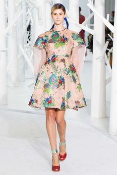 Delpozo Fall 2015 Ready-to-Wear Fashion Show - Daine Conterato