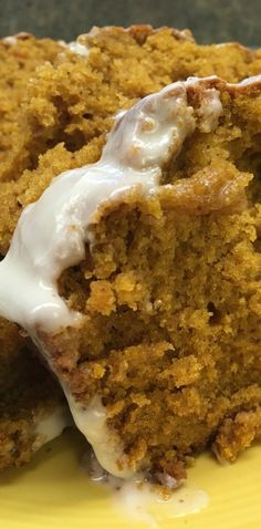 If I could add pumpkin to everything this time of year, I would. Trust me. I had good intentions to share this with the neighbors, but after taking a few bites, and the family scarfing down the bread, we didn't have any left over to share.