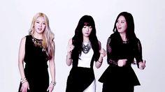 Hyoyeon, Taeyeon, & Seohyun GIF.