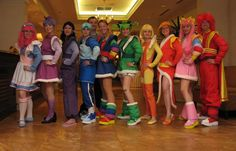 Rainbow Brite Costumes :D YES!!!! I was just saying I wanted to do this with my friends!!