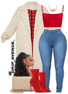 Boujee Outfits, Baddie Outfits Casual, Swag Outfits For Girls, Cute Swag Outfits, Cute Comfy Outfits, Dressy Outfits, Dope Outfits, Teen Fashion Outfits, Stylish Outfits