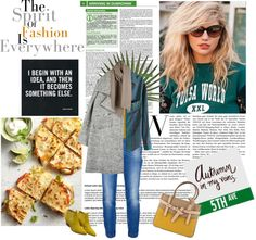 """""""Check shirt"""" by solespejismo ❤ liked on Polyvore"""
