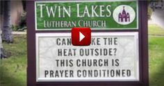 Funny Pop Culture Parody of Popular Song Makes Light of Funny Church Signs - Funny Video