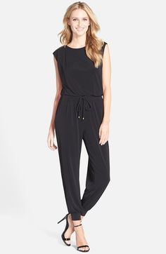 Ivanka+Trump+Jersey+Jumpsuit+available+at+#Nordstrom