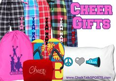 We have all the perfect gifts for the person who puts pep into your life! Check out our variety of cheerleading products.