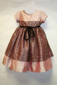 Hmmm....sparkly dress