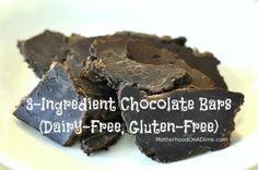 3-Ingredient Chocolate (Dairy-Free, Gluten-Free, Soy-Free!!)