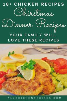 Chicken Recipes for Christmas - Enjoy our best chicken recipes for Christmas dinner eve that you make pretty quickly and serve hot with your family. Chicken Main Course Recipes, Easy Chicken Thigh Recipes, Chicken Breast Recipes Healthy, Healthy Chicken Recipes, Chicken Breast Recipe Video, Appetizer Recipes, Dinner Recipes, Dinner Ideas, Healthy Chicken Dinner