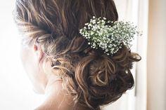 30 penteados para noivas de cabelo liso Image: 8