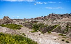 """Enticing me to visit """"Flowers In The Badlands"""" #landscape #photography by John Bailey"""