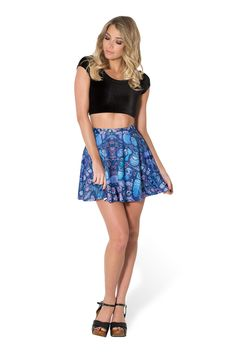 Midnight Owl Skater Skirt by Black Milk Clothing $50AUD ($45USD)