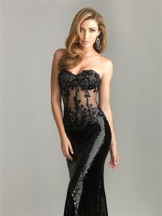Night Moves Prom 2011: Style: 6611 I would love this as my prom dress but I'm still undecided