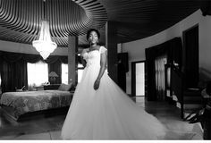 Bright Nigerian Wedding - As seen on Ceci Style www.cecistyle.com #wedding #nigeria #lagos #africa #bride #gown #blackandwhite #bw #portrait #dress #serene