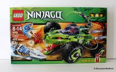 LEGO Ninjago Set 9445 Fangpyre Truch Ambush New Sealed Discontinued Retired HTF