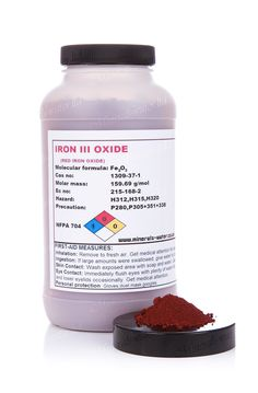 500g Red Iron Oxide powder- High grade!!!HDPE bottle