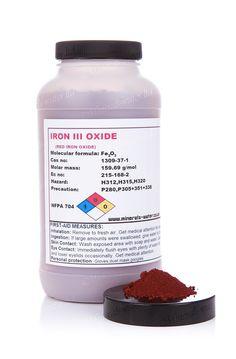 500g Red Iron Oxide powder- High grade!!!HDPE bottle