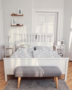 Ikea double bed Hemnes white lacquerBecause we want to move, we sell the .Ikea double bed Hemnes white lacquerBecause we want to move, we sell this . Condo Bedroom, Bedroom Sets, Bedroom Decor, Ikea Bedroom Design, Hemnes Ikea Bedroom, My New Room, Home Decor Inspiration, Decoration, Interior