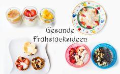 Schnelle gesunde Frühstücksideen (nicht nur) für Kinder