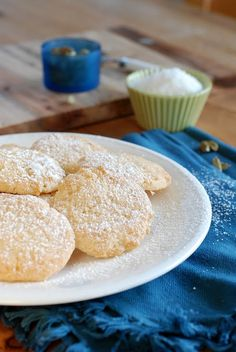 Coconut and cardamom cookies    http://www.sarahmelamed.com/2011/09/coconut-and-cardamom-cookies/