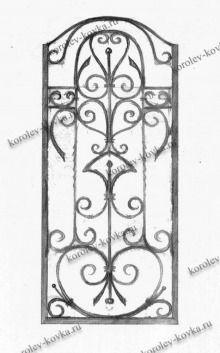 КЛ-229 Кованая калитка с фигурным верхом http://korolev-kovka.ru/kl229-kovanaja-kalitka-s-figurnym-verhom/  КЛ-229 Кованая калитка с фигурным верхом является настоящим произведением кованого искусства. Каркас данной модели кованой калитки выполнен из прочного профиля 40*25...