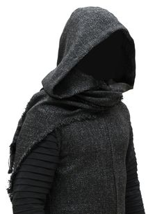 Kylo Ren Coat & Hood by Magnoli Clothiers Sith Costume, Dark Fashion, Mens Fashion, Cool Outfits, Casual Outfits, Apocalyptic Fashion, Menswear, Costumes, Stylish