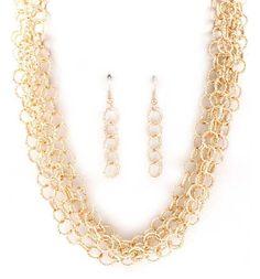 Lauren Necklace in Gold ♥