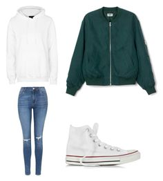 """School"" by wantyousobad on Polyvore featuring Mode, Topshop und Converse"