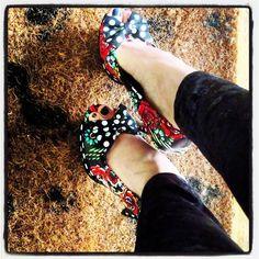 Blog a 4 mains: want #unique #shoes ? -- vous voulez des #chaussures #modern #ironfist #love #ellegant ... http://blog4mains.blogspot.com/2014/09/want-unique-shoes-vous-voulez-des.html?spref=tw