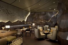 Nobu Restaurant, Perth #interiordesigner Michael fiebrich