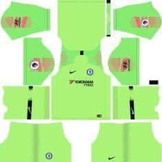 Goalkeeper Dream League Soccer Kits Chelsea FC Away 2018-19 URL 512x512 5d44bce96