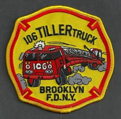 FDNY BROOKLYN LADDER COMPANY 106 FIRE PATCH
