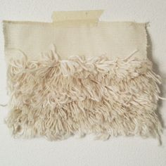 Samples of Rya, made out of remnants of yarn from Tufting ~ by Line Sander Johansen
