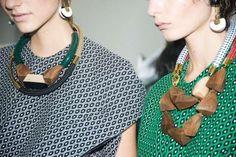 Tendencias Joyas primavera/Verano 2015: fotos de los modelos - Collares de Marni