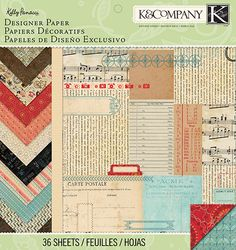 K&COMPANY-Eclectic Designer Paper Pad. Perfect for all your paper crafting needs! This package contains thirty-six double- sided inch sheets in twelve different designs (three of each design). Black Tees, Cheap Sweaters, Baby Play, Amazon Art, Sewing Stores, Paper Design, Junk Journal, Sewing Crafts, Craft Projects