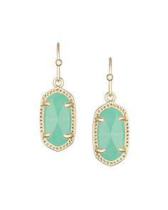 Lee Earrings in Mint - Kendra Scott Jewelry