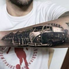 Kombi tattoo