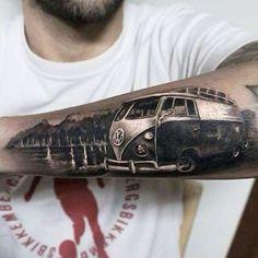 Kombi tattoo