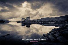 Eilean Donan #castle on a dreich Highland day  #scotland