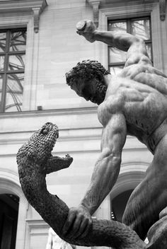 Louvre. Hercules and the Hydra