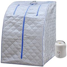 Saunas - Durherm Portable Personal Folding Home Steam Sauna Blue Outline *** Find out more about the great product at the image link. (This is an Amazon affiliate link)