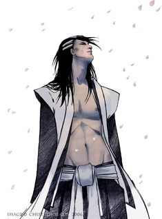 Byakuya by ~satsukei - feel free to *squeee* until you passout...
