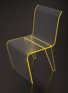 "INSPIRATION chair: ""Chair Flicker"" by Ivan Romanov | http://www.peregrineplastics.com"
