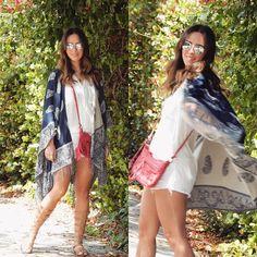 #fashion #style #ootd #gabimay #blogger #moda #estilo #lookdodia #instagram #miami #florida #kimono #gladiadora #gladiator #boho