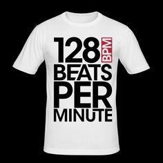 128 Beats Per Minute Clubwear, Dj Party, Slim Man, Electronic Music, Fashion Art, Beats, Mens Tops, T Shirt, Shopping