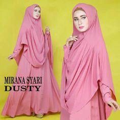 Gamis Syar'i Modern MIRANA SYARI DUSTY - http://warongmuslim.com/gamis-syari/gamis-syari-modern-mirana-syari-dusty/